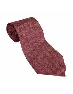 Accessoire fashion - Cravate en soie rose avec décor fleurs: Amazon.fr: Vêtements et accessoires