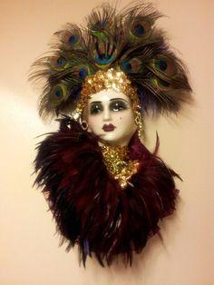 Anastasia porcelain mask
