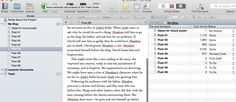 Use Scrivener to Write Blogs that become Books