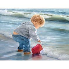 Mason at the Beach