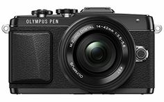 Olympus E-PL7 16MP Mirrorless Digital Camera with 3-Inch LCD with 14-42mm EZ Lens (Black)