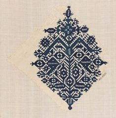 Embroidery fragment | Museum of Fine Arts, Boston