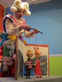 Toy Box Theater, founded in 1999 is the creation of Keith Shubert who is principle artist and builder. They perform solo and group shows for galleries, theatres, schools, festivals, and private parties