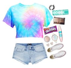 """""""What I want to wear"""" by rybread2003 ❤ liked on Polyvore featuring 3x1, Converse, New Look and Maybelline"""