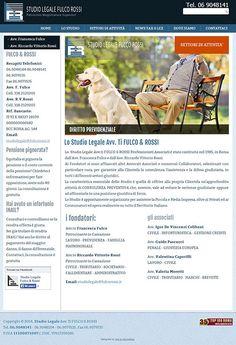 SitoWeb: www.fulcorossi.it