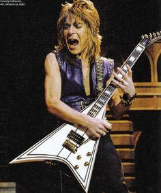 Randy Rhoads in 1982. Guitar God!