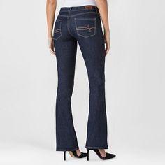 Denizen from Levi's Women's Modern Boot Cut Jeans Limo 10 Short
