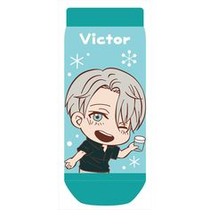 ,Yuri on Ice Toji Colle Socks Victor Nikiforov,Collectible  listed at CDJapan! Get it delivered safely by SAL, EMS, FedEx and save with CDJapan Rewards!