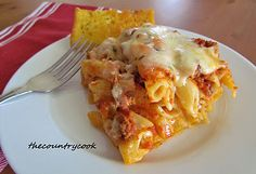 The Country Cook: Easy Baked Ziti