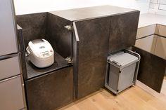 キッチンハウス キッチン:HJロックグレー バックセット:LCメルクリオ、HJロックグレー No.113-002507 Canning, Kitchen, Home, Cooking, Kitchens, Ad Home, Homes, Home Canning, Cuisine