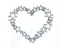 Star Heart Tattoo by average-sensation