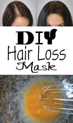 DIY Hair Loss Mask