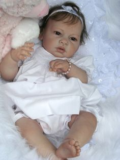 Reborn Baby Doll...these feet and legs are so realistic!!!