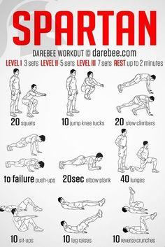 fitnessworkout spartanworkout spartan workout Spartan Workout You can find Abs workout men and more on our website Home Workout Men, Workout Routine For Men, Gym Workout Tips, At Home Workout Plan, At Home Workouts, Core Workouts, Ab Workouts For Men, Easy Daily Workouts, 300 Workout
