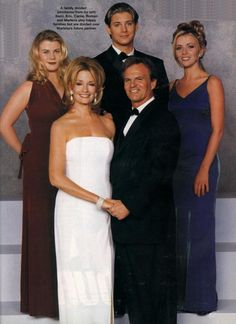 We are family! Sami, Marlena, Eric, Roman and Carrie! Jensen Ackles on Days of Our LIves.