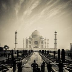 Taj Mahal, India  #india #travel #photos