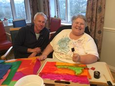 Lets get Arty at Riversway - Riversway Care Home Bristol