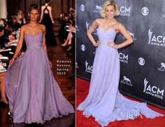 Kellie Pickler In Romona Keveza – ACM Awards 2014