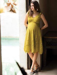 875508cdd4840 A Pea in the Pod Hanky Hem Maternity Dress Maternity Dresses, Maternity  Fashion, Bridesmaid
