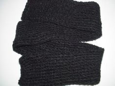 How to tube knit a scarf on a round loom
