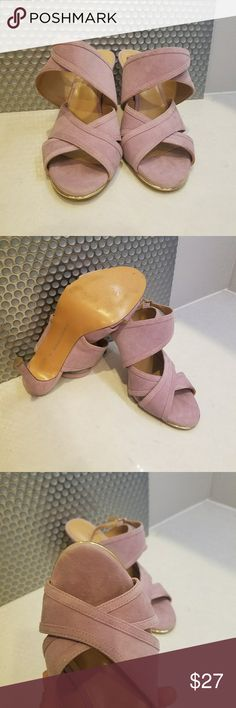 Banana republic heels sandals They are in perfect condition I use one time only Banana Republic Shoes Sandals