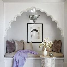 Moroccan Style Bedroom Reading Nook