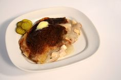 Rapure Pie better known as Rappie Pie is an Acadian dish from Canada made with potatoes and chicken.