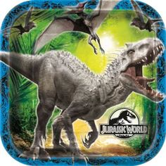 Jurassic World Lunch Plates 8ct - Party City