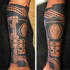 Work by: @jeroenfranken (Holland) #marquesan #pacific #oceanic #tribaltattoos #tribal #tribaltataucollective
