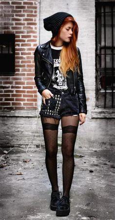 grunge street style