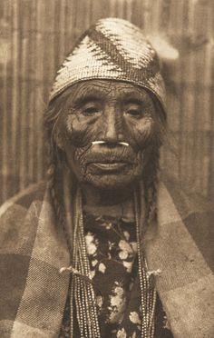 Wishham Female Type (The North American Indian, v. VIII. Norwood, MA: The Plimpton Press, 1911)