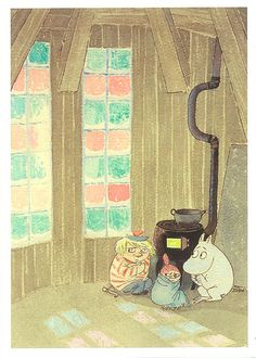 It's cold in Moomin land