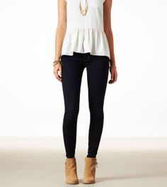 Express | JEGGING | STYLE: 0431-8026 | COLOR: 852 (Clean Rinse) | CLEAN RINSE - SUPER STRETCH | Regular $39.95/Sale $29.95 | Size 2 Short