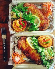 Photo from heavydrinker Bento Recipes, Cooking Recipes, Healthy Recipes, Japanese Food Sushi, Good Food, Yummy Food, Cafe Food, Morning Food, Food Design