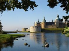 Kalmar Castle in Kalmer, Sweden