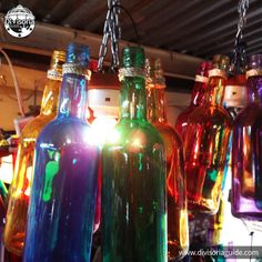 bottle at - Other Cool Non-Divisoria Stuff :) - Bottle Chandelier, Shop Around, New Crafts, Chandeliers, Craft Supplies, Recycling, Projects To Try, Manila, Cool Stuff