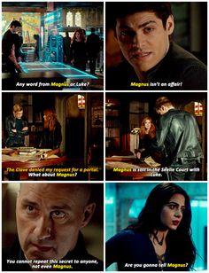 """#Shadowhunters 2x16 """"Day of Atonement""""  - """"Magnus"""" - #AlecLightwood #JaceWayland #RobertLightwood #ClaryFray #IsabelleLightwood"""