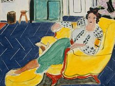 Henri Matisse - Woman Seated in an Armchair 1940