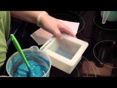 Making & Cutting Ocean Fresh Soap - YouTube