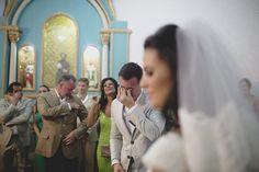 Os pais do noivo: Bob e Lilian Lima se emocionam