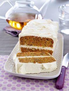 Karotten und Kuchen - das soll passen? Und wie! Unser neuer Star am Backhimmel: ein herrlich saftiger Carrot Cake.