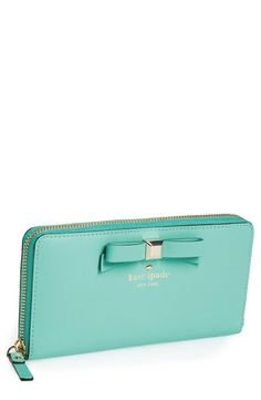 kate spade zip around wallet