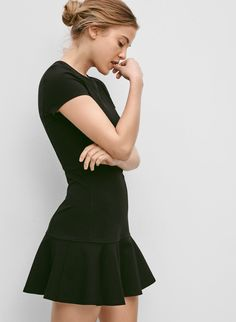 A sweet and structured dress with a nod to mod