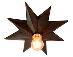 eclectic ceiling lighting by Ballard Designs..This can so be made..I have the Stars