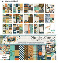 Spring 2015 Reveal Day 3 - So Rad | Simple Stories