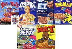 80's cereals!