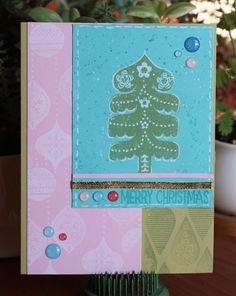 scandinavia christmas card 1217 sketch challenge tree