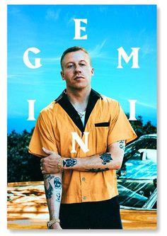 GEMINI Macklemore Poster – Macklemore Merchandise