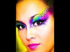 Showgirls-Teeth-tiger eye makeup - Google Search