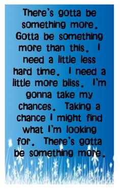 Sugarland - Somthing More - Song Lyrics, Music